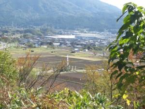 関ケ原古戦場笹尾山