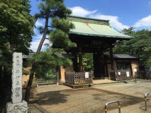 井伊家の菩提寺豪徳寺
